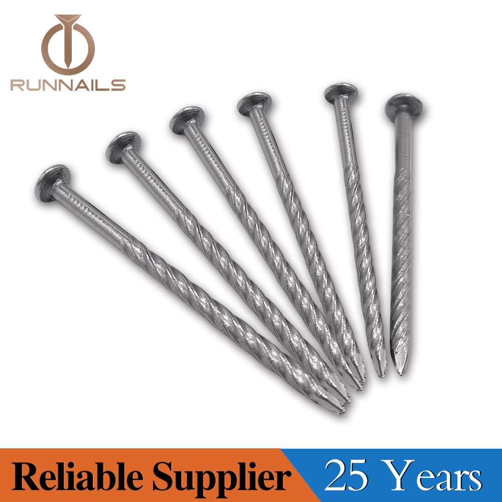 Machine Grade Bulk Pallet Nail with Screw Shank